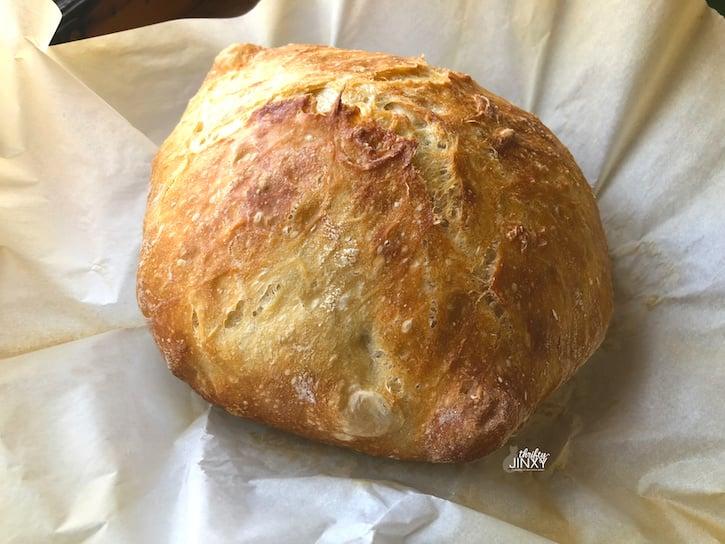 Easiest No Knead Bread Original