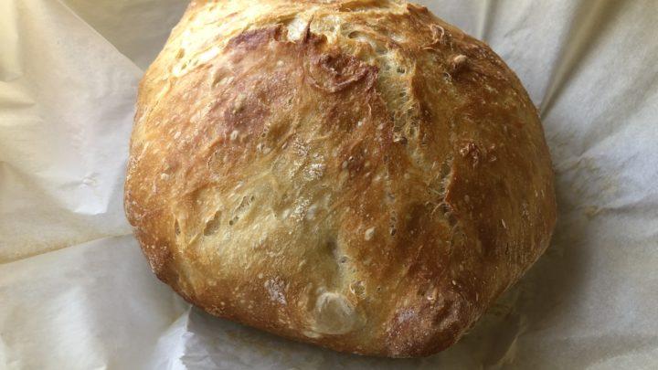 Easiest No Knead Bread Recipe