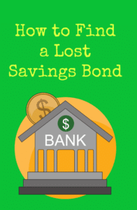 How to Find a Lost Savings Bond