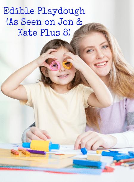 Edible Playdough - Thanks to Jon and Kate Plus 8