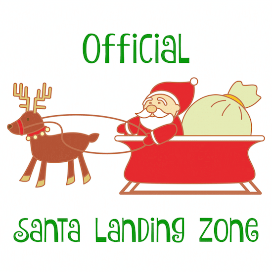 Official Santa Landing Zone