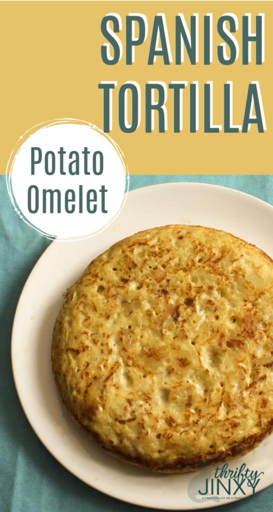 Spanish Tortilla Potato Omelet