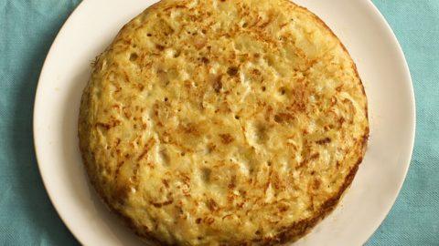 Spanish tortilla potato omelette
