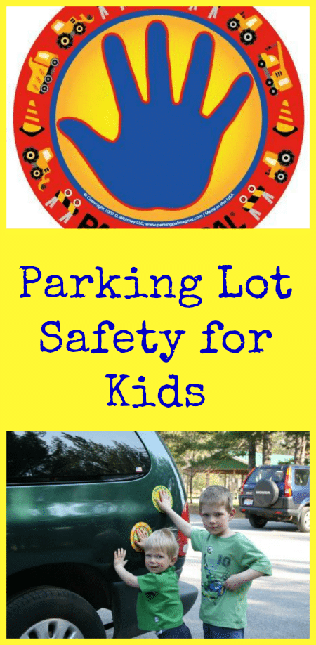 Parking Pal Magnet Kids Parking Lot Safety Thrifty Jinxy