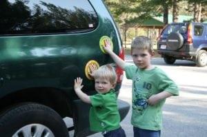 Parking Pal Magnet – Kids Parking Lot Safety