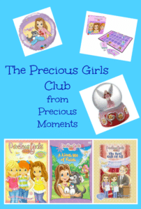 The Precious Girls Club from Precious Moments – Review & Giveaway