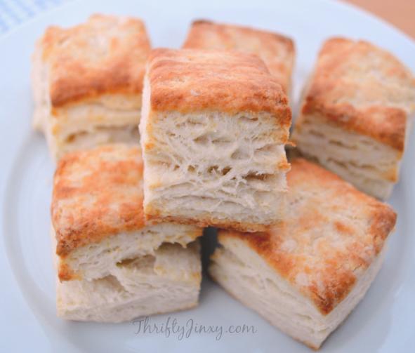 Biscuits with No Shortening