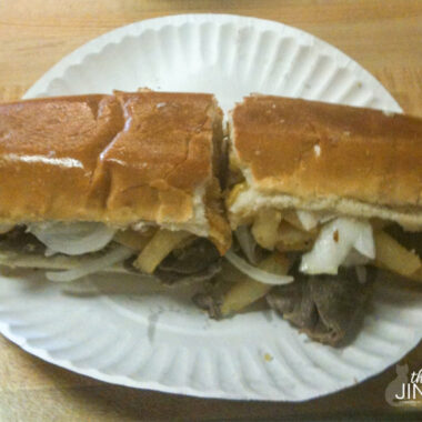 Dos amigos Steak Sandwich