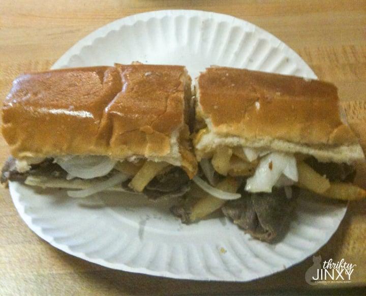 Dos amigos Steak Sandwich