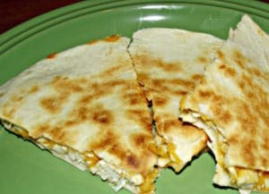 Leftover Turkey Quesadillas Recipe
