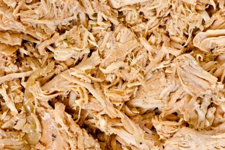 shredded turkey