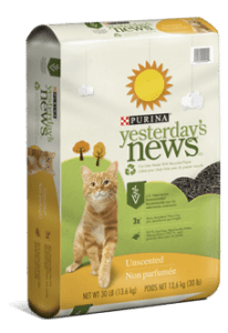 Yesterday's News Cat Litter – BOGO Free (Up to $17) Printable Coupon