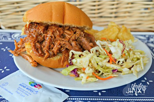 Sweet Onion Slow Cooker Pulled Pork