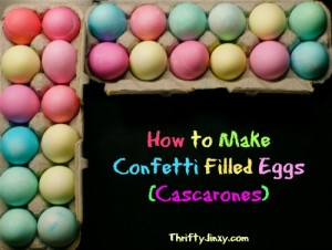 How to Make Confetti Eggs for Easter or Cinco de Mayo (Cascarones)