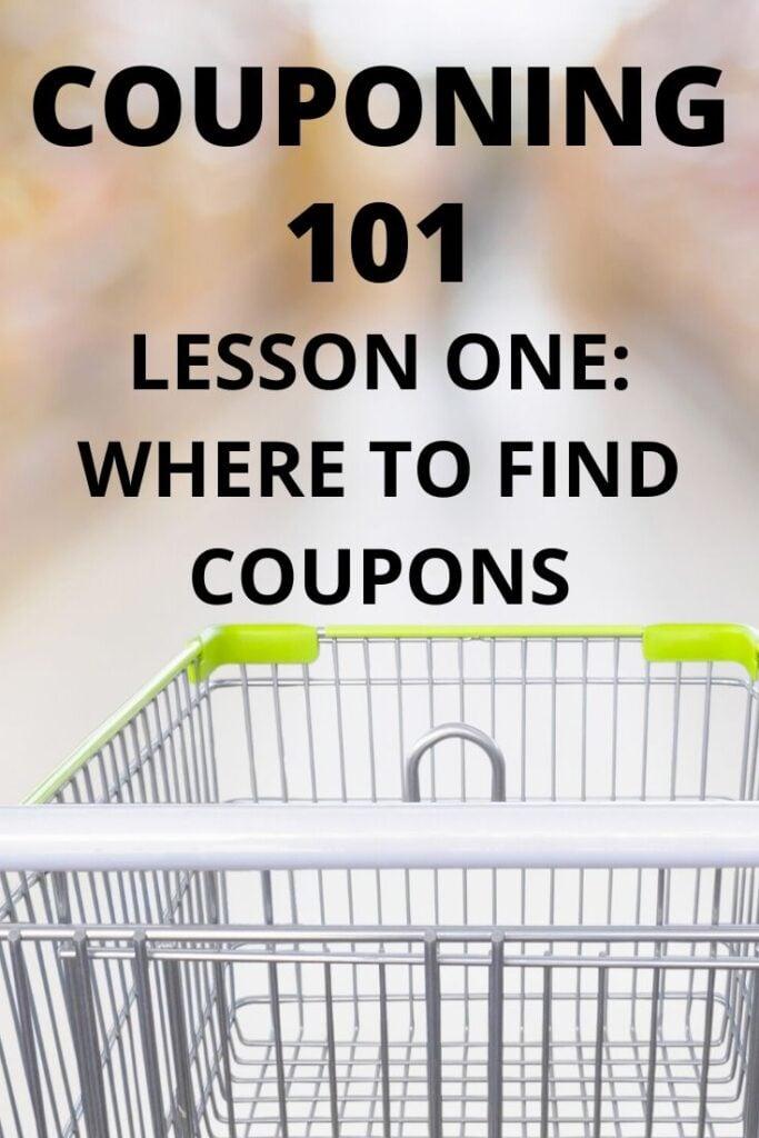 COUPONING 101 SHOPPING CART
