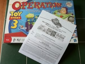 Only $2 for Toy Story 3 Operation Game + a Tombstone Pizza at Walmart