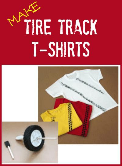 Make Tire Tracks T-Shirts