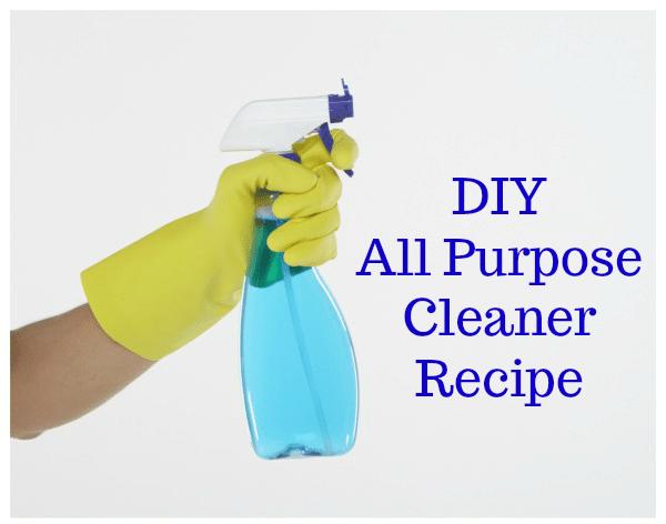 DIY All Purpose Cleaner Recipe