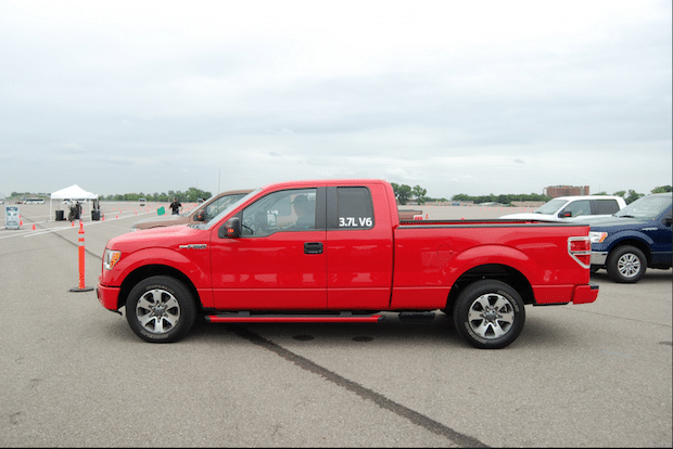Ford F-150 Test Drive Course at Dearborn, MI