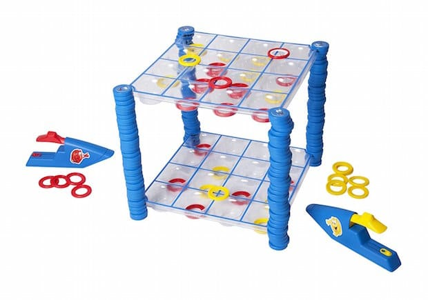 Hasbro Connect 4 Launchers Game Setup