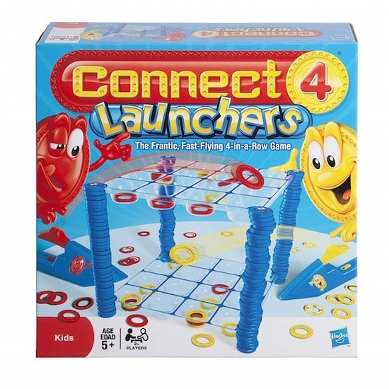 Hasbro Connect 4 Launchers Review