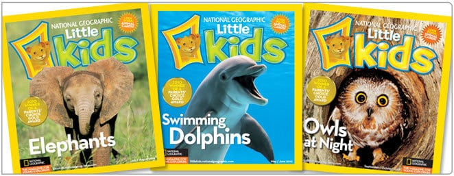 National Geographic Little Kids Magazine Subscription Deal