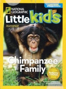 National Geographic Little Kids Magazine Subscription (With Bonus Animal Cards)