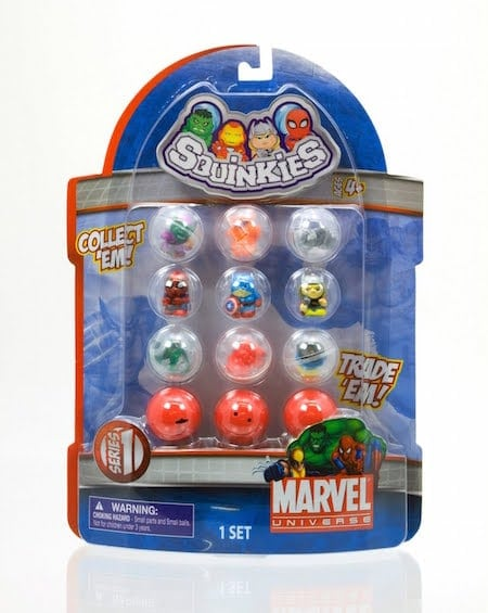 Marvel Squinkies Set