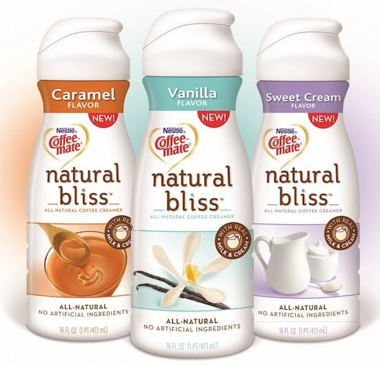 Coffee-mate Natural Bliss Creamer Review