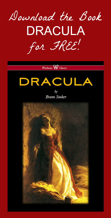 FREE Download of DRACULA by Bram Stoker - Perfect Halloween Reading!