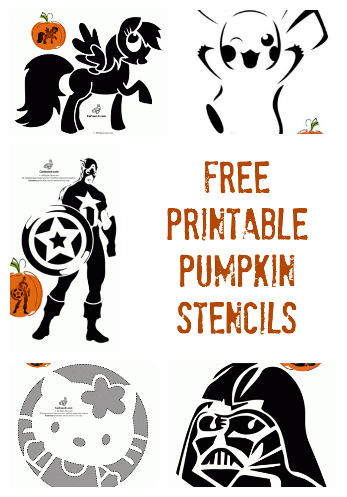 Free Printable Pumpkin Stencils