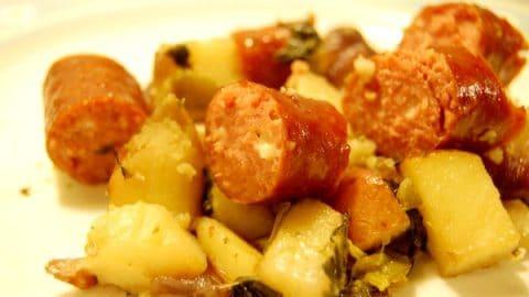 Hillshire Farm Beef and Bacon Sausage Recipe Kielbasa Potatoes