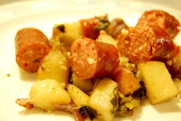 Hillshire Farm Beef and Bacon Sausage Recipe Kielbasa Potatoes
