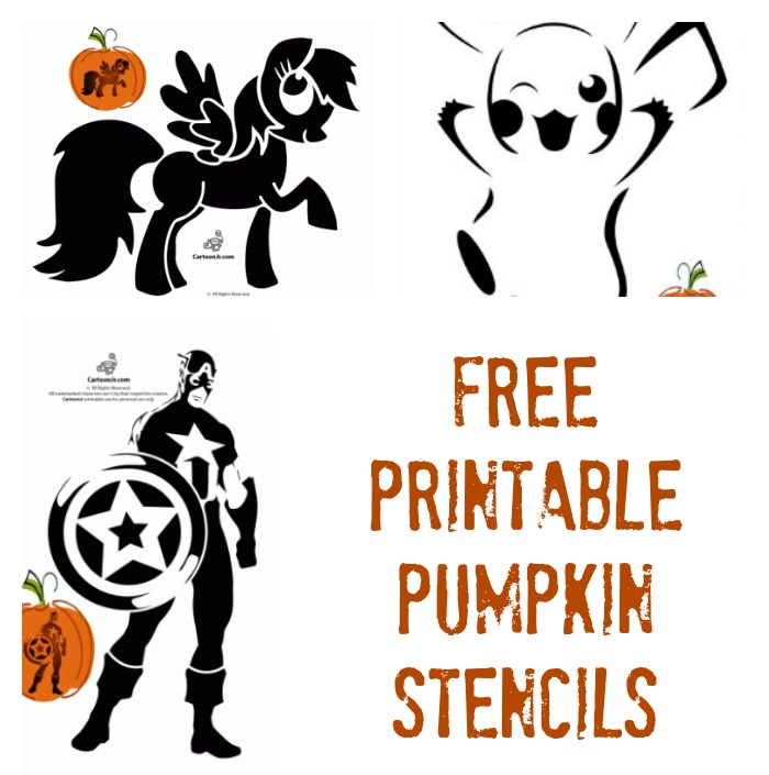 Free Printable Pumpkin Stencils Avengers Hello Kitty Disney Scooby Doo Star Wars And More Thrifty Jinxy