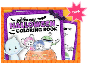 Team Umizoomi Printable Coloring Book