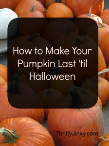 How to Make Your Pumpkins Last Until Halloween – 4 Simple Tips
