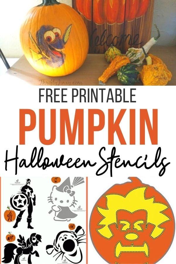 pumpkin stencils for Halowen