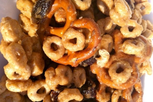Cheerios Sweet and Salty Snack Mix Recipe