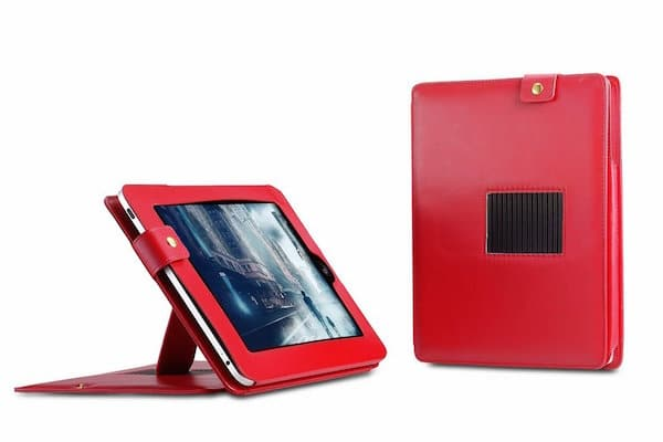 Deluxe Leather Case with Built-in Stand for Apple iPad