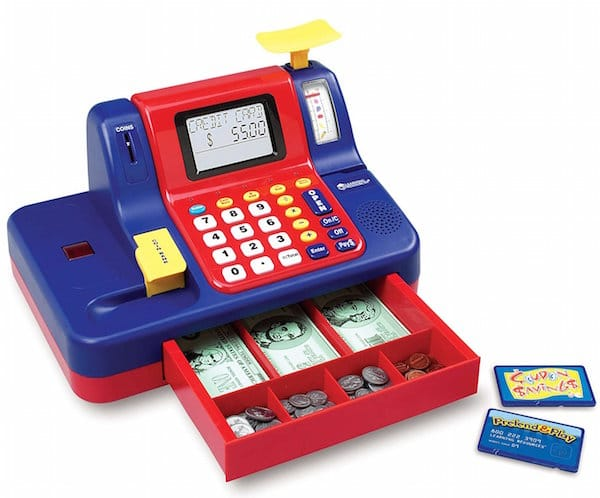 Learning Resources Pretend & Play Teaching Cash Register