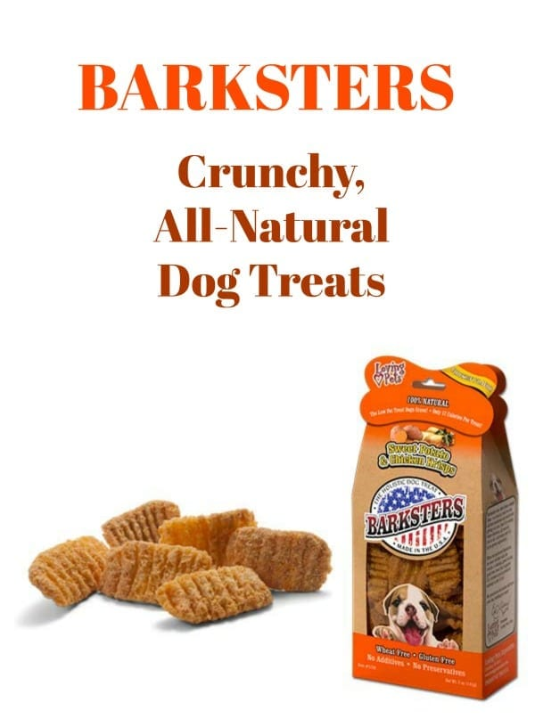 Barksters Crunchy All-Natural Dog Treats