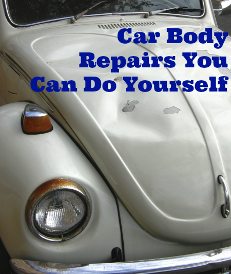 Car Body Repairs You Can Do Yourself