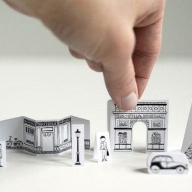 Free Printable Travel Size Paper City of Paris