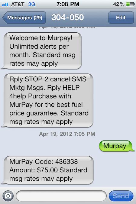 Murpay TXTPay