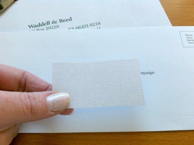 Junk Mail Enevelope Reusable DIY