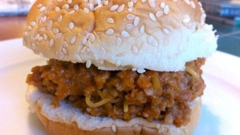 stretch your beef sloppy joes recipe