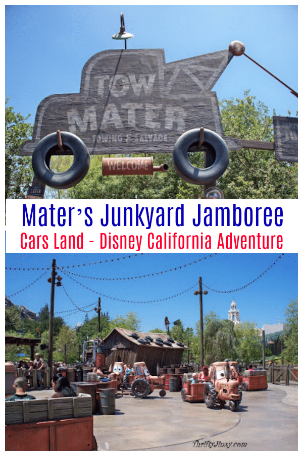 Maters Junkyard Jamboree Cars Land