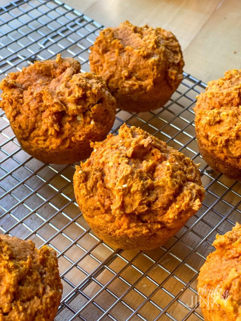 Pumpkin Muffins from Yellow Cake Mix