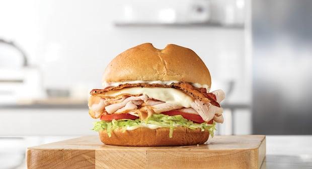Arbys Grand Turkey Club Sandwich