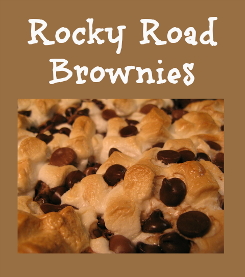 Yummy Dessert Recipe – Rocky Road Brownies